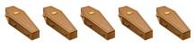 5 Coffins