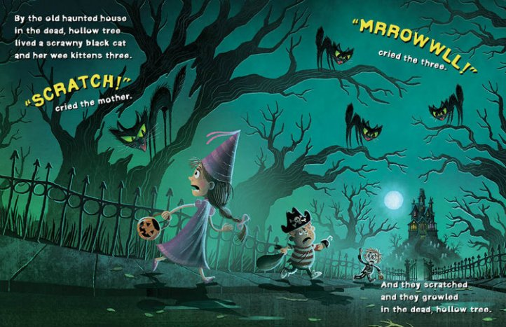 KidLit Book Review: At the Old Haunted House by Helen