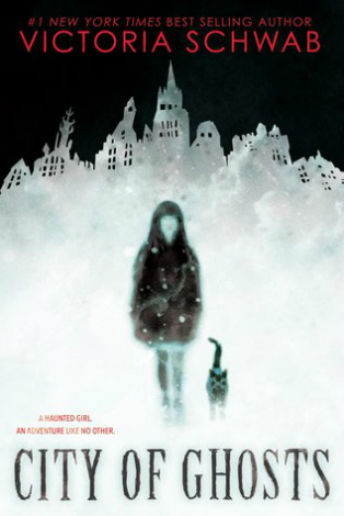 City of Ghosts cover Victoria Schwab V. E. Schwab middle grade book horror kidlit review children's books