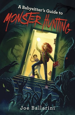A Babysitter's Guide to Monster Hunting Halloween kidlit book review monsters middle grade series children's books