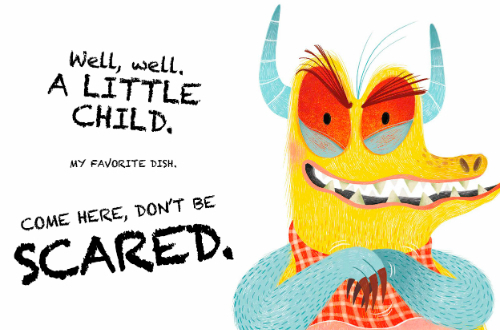 Beware the Monster kidlit children's book monster book review picture book