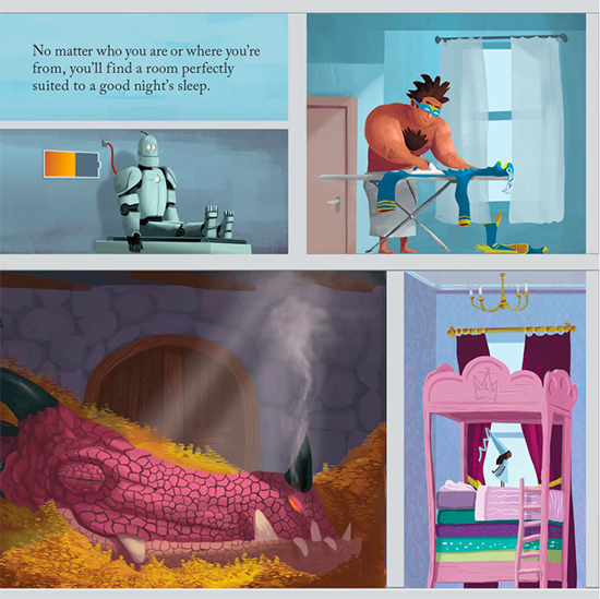 Hotel Fantastic picture book kidlit book review