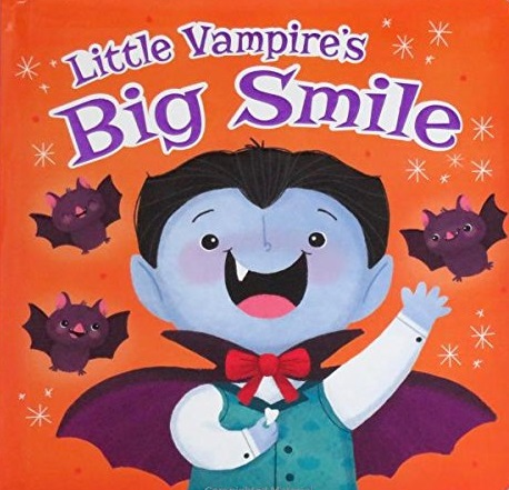 Little Vampire's Big Smile board book Halloween monster book review kids' books learning tooth fairy babies toddlers cute fun kidlit