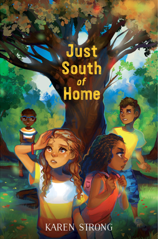 Just-South-of-Home-cover-middle-grade-ghost-story-kidlit-book-review