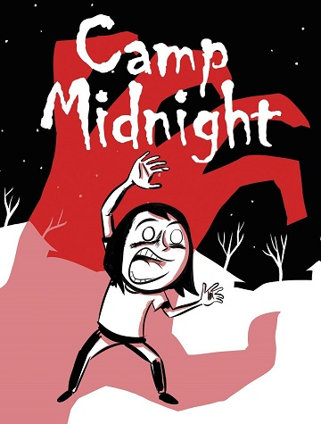 Camp-Midnight-cover-graphic-novel-middle-grade-book-review-horror-kidlit-self-affirmation-humor-image-comics